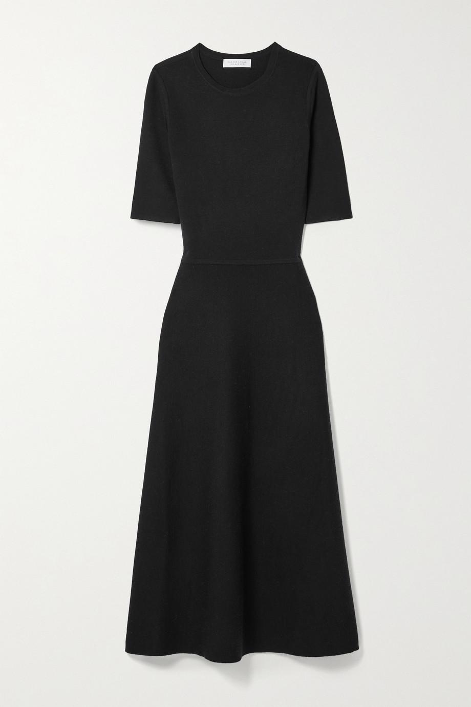 Gabriela Hearst Seymore wool, cashmere and silk-blend midi dress