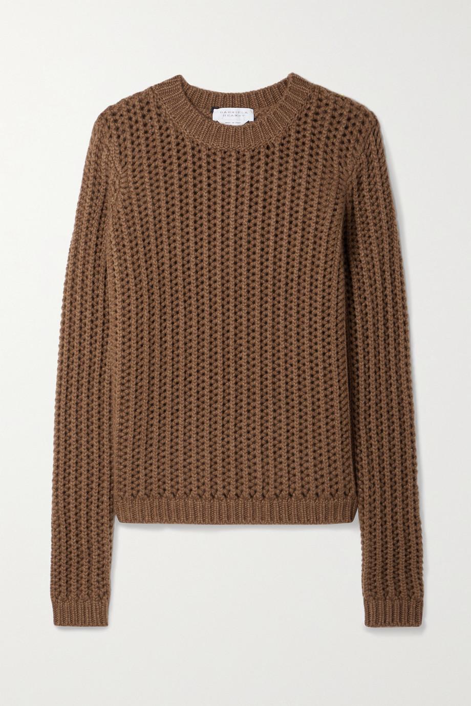 Gabriela Hearst Phillipe ribbed cashmere sweater
