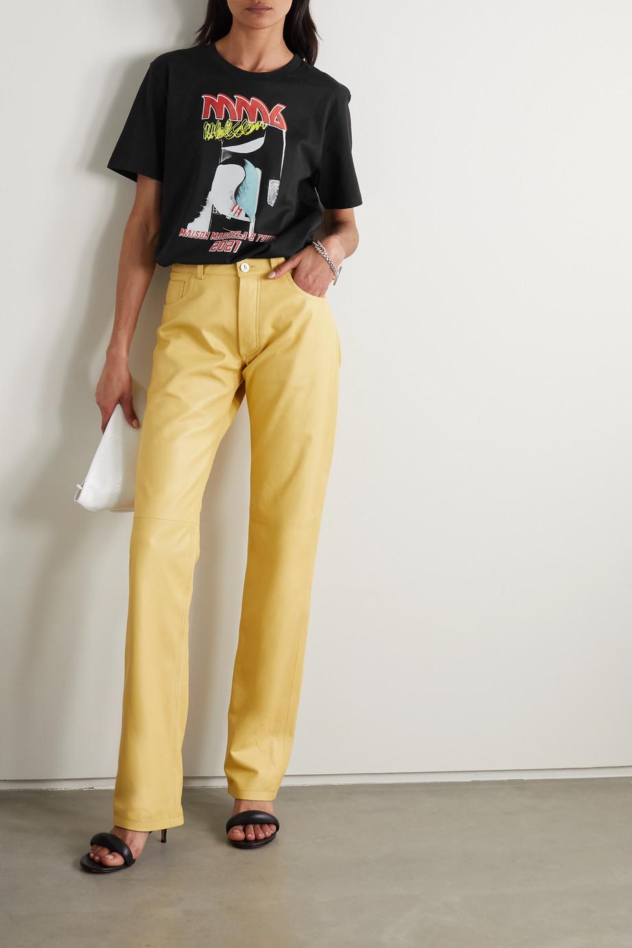 MM6 Maison Margiela T-shirt en jersey de coton imprimé