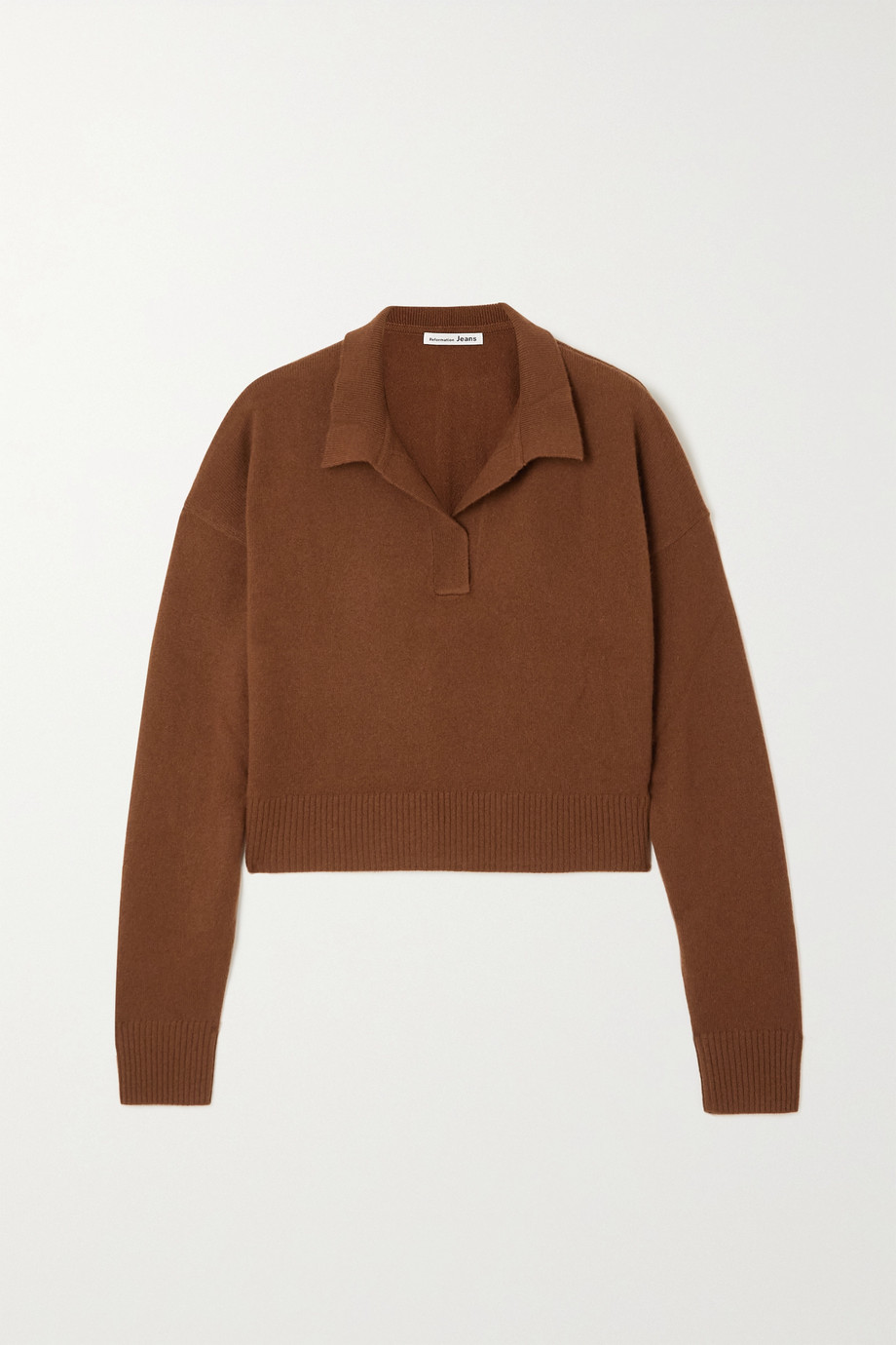 Reformation + NET SUSTAIN recycled cashmere-blend sweater