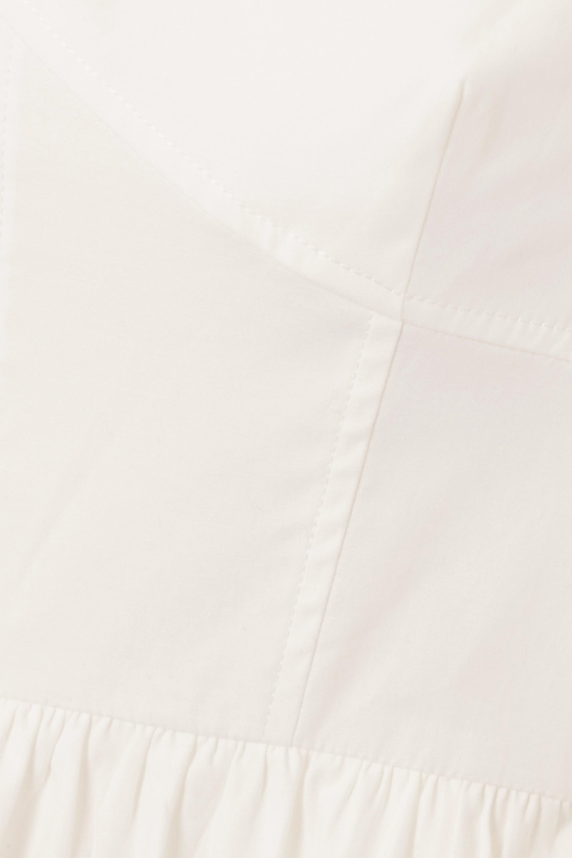 Reformation + NET SUSTAIN Luce organic cotton-blend poplin  midi dress