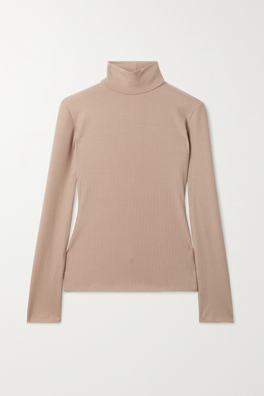 Reformation + NET SUSTAIN Ira ribbed stretch-TENCEL Lyocell turtleneck top