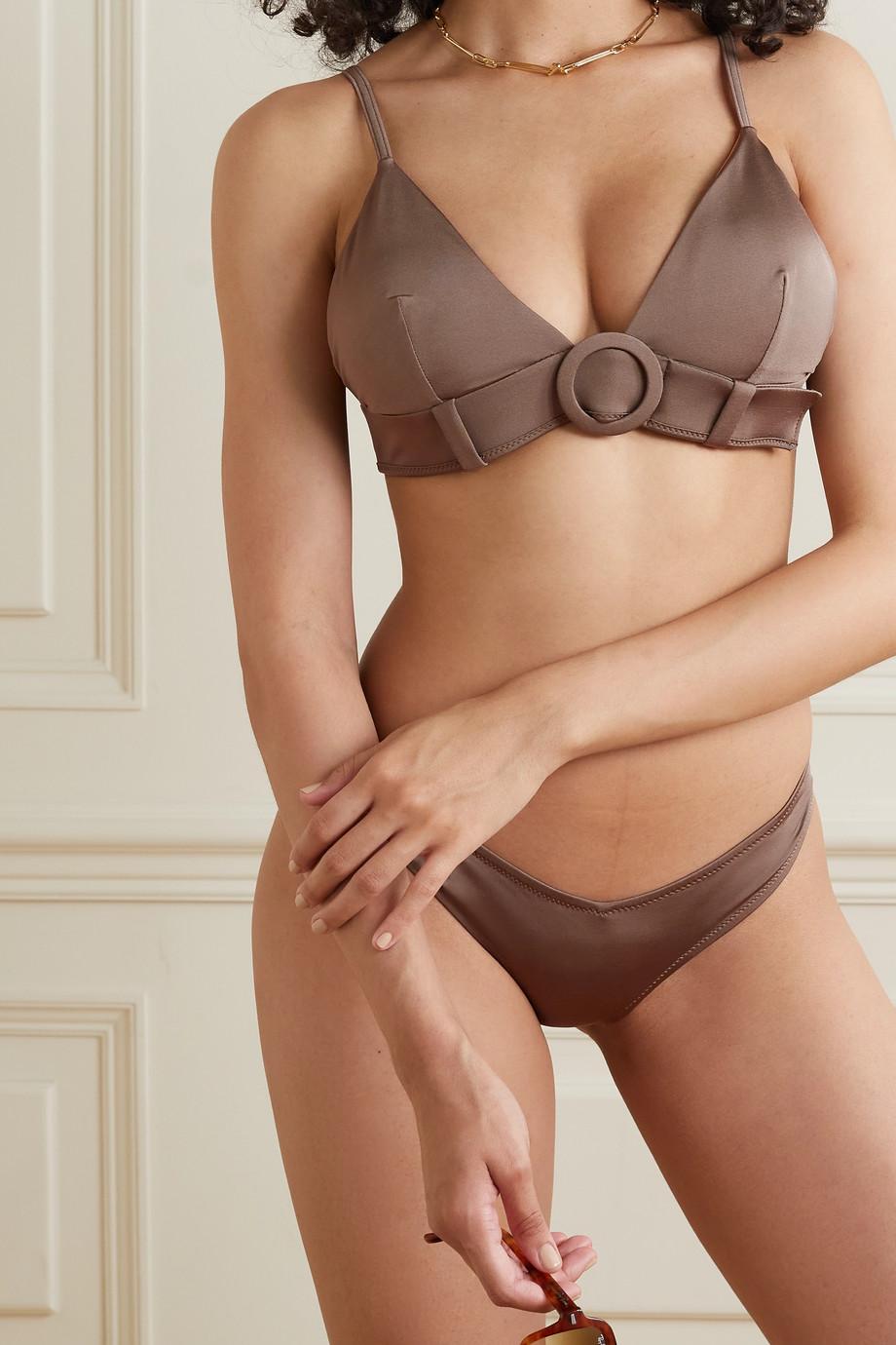 Evarae Haut de bikini en ECONYL stretch à ceinture Sabine - NET SUSTAIN