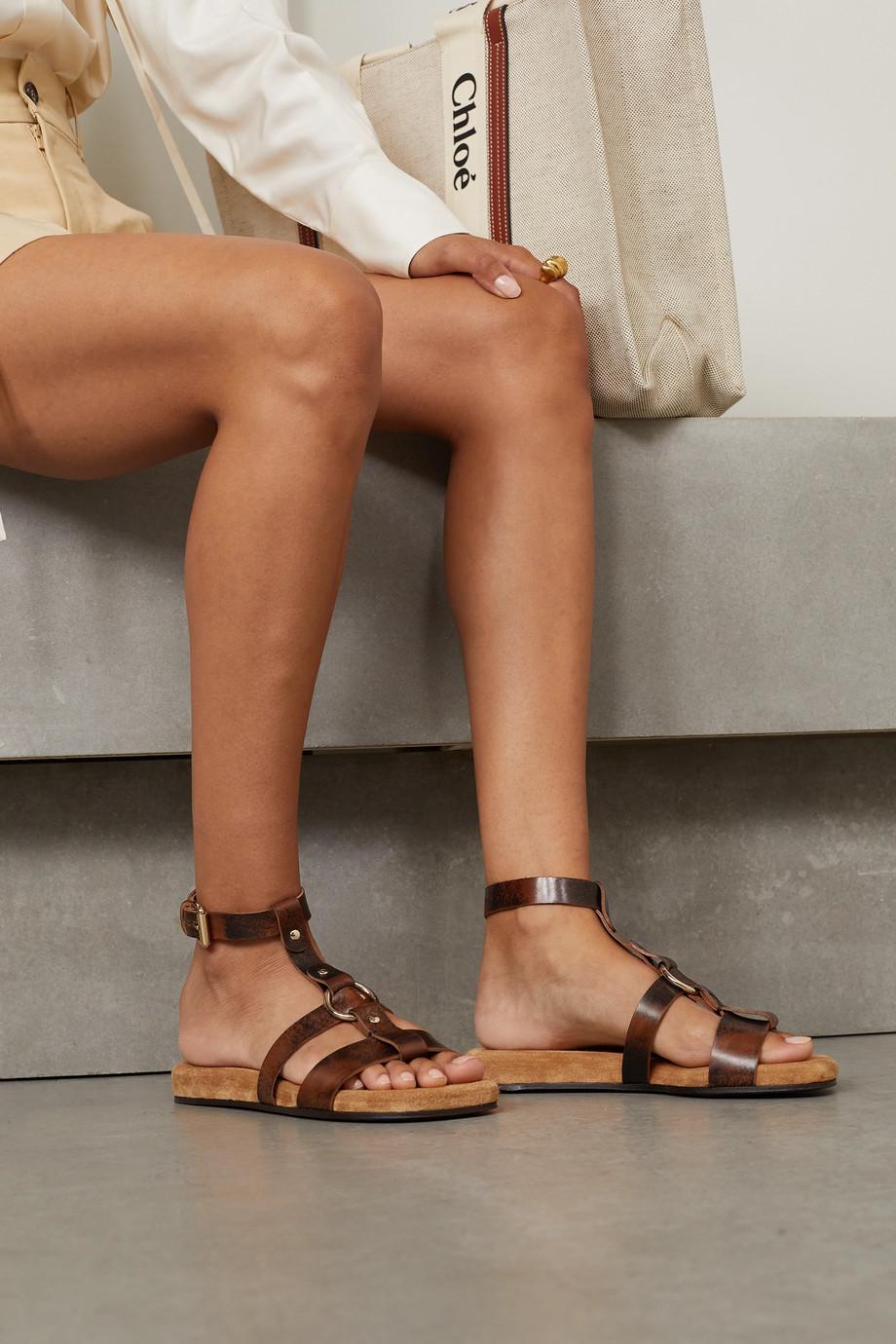 Chloé Diane studded leather sandals