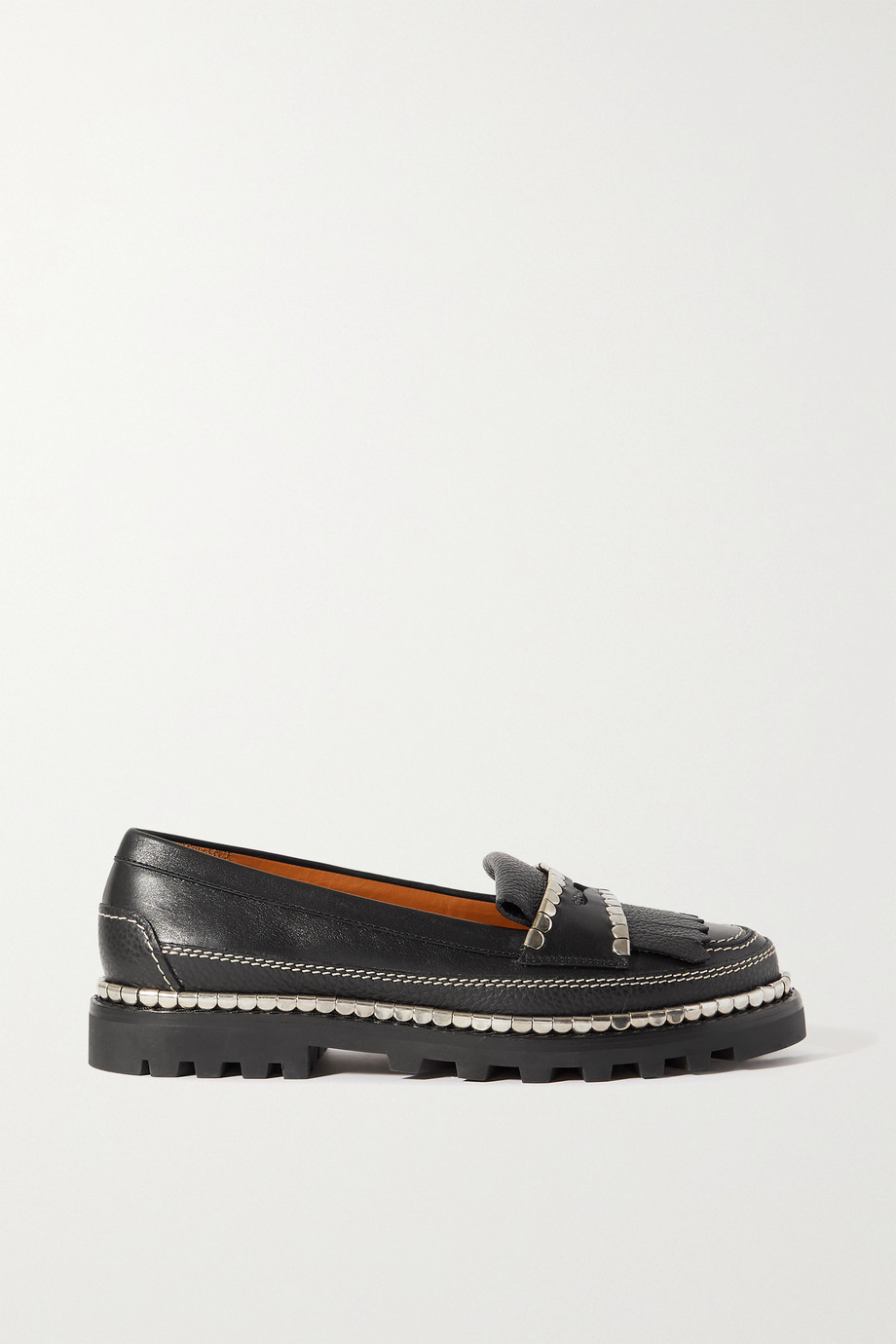 Chloé Idol embellished leather loafers
