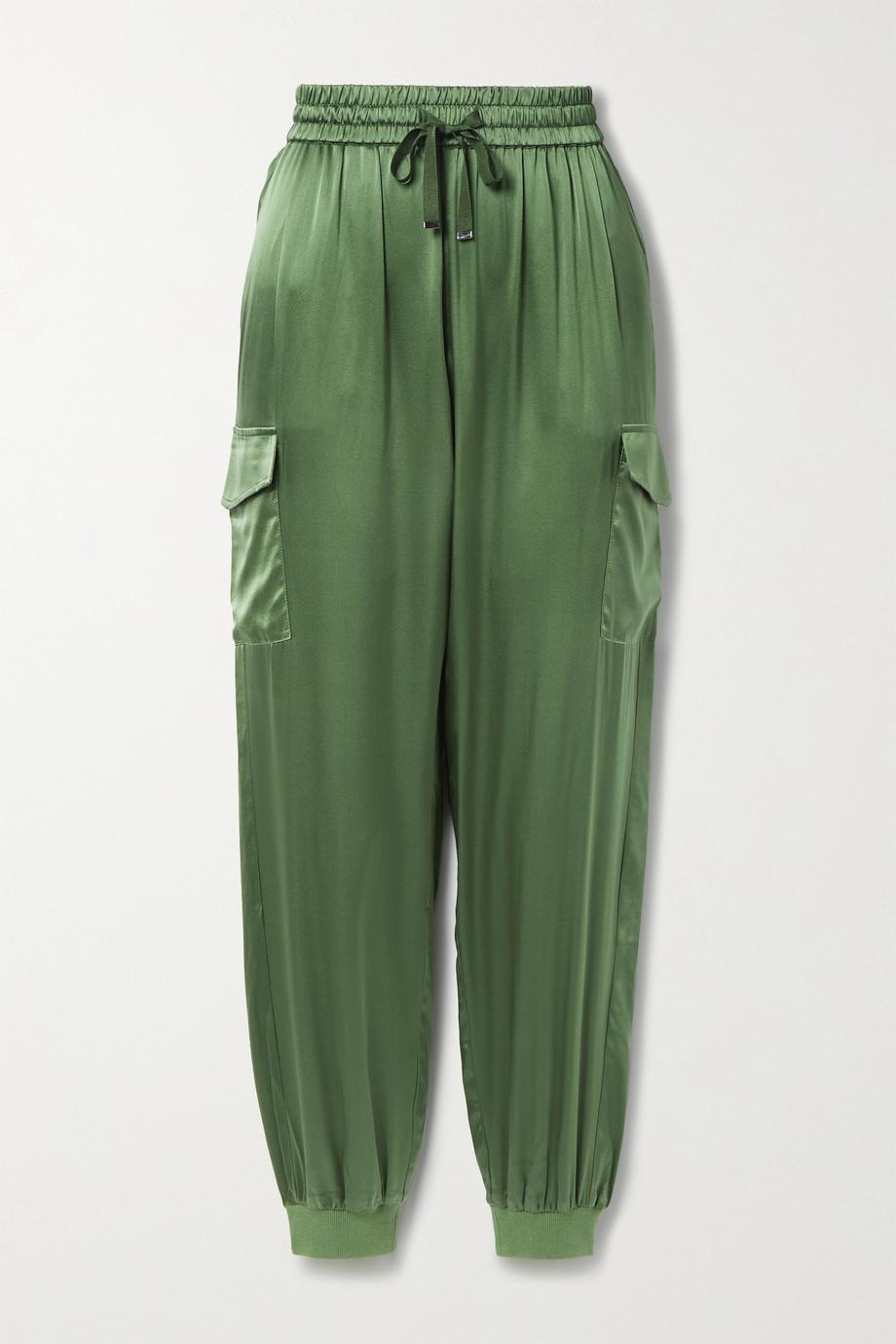 Cami NYC Pantalon de survêtement en charmeuse de soie mélangée The Elsie