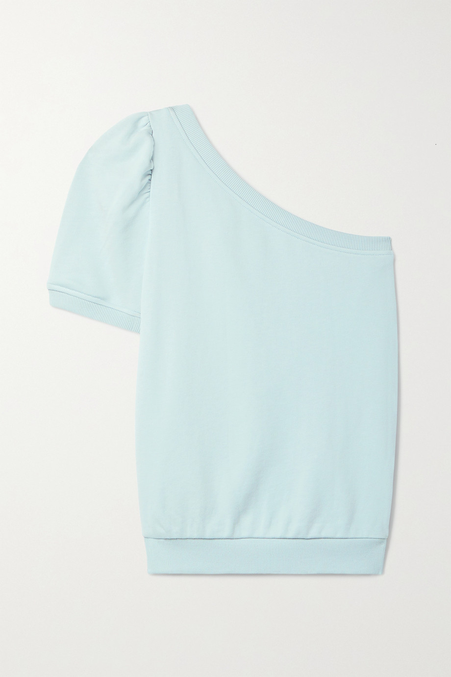 Cami NYC The Beck one-shoulder French cotton-terry top