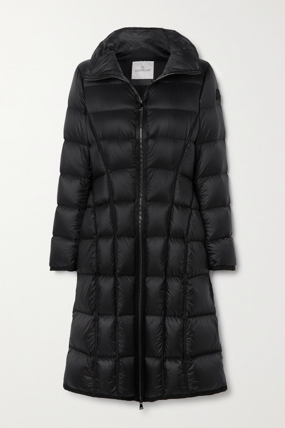 Moncler Manteau en tissu technique matelassé et en duvet Bellevalia