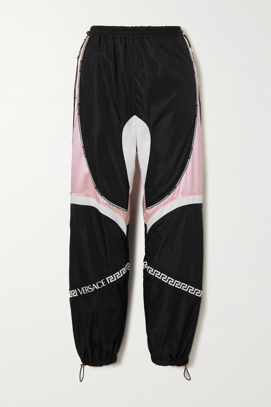 Versace Jogginghose aus Shell und Satin