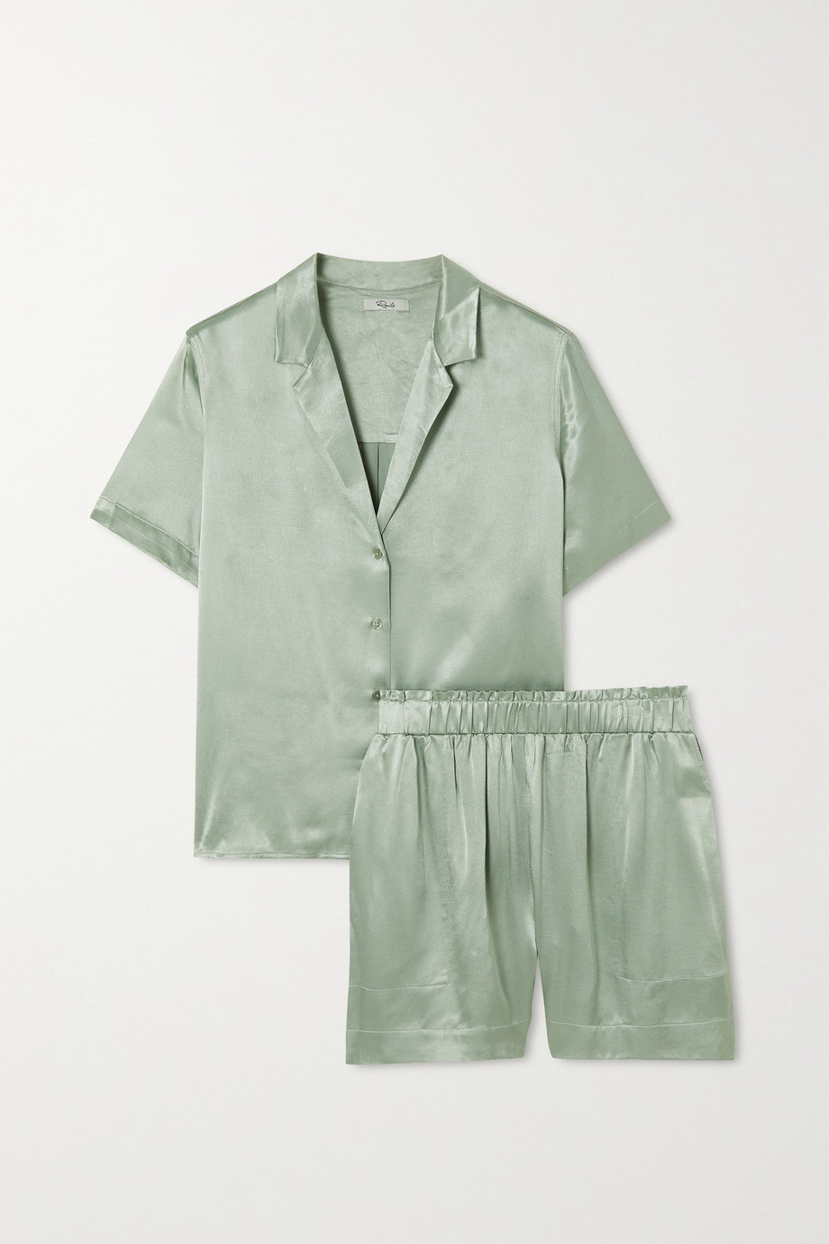 Rails Maui Leighton satin pajama set