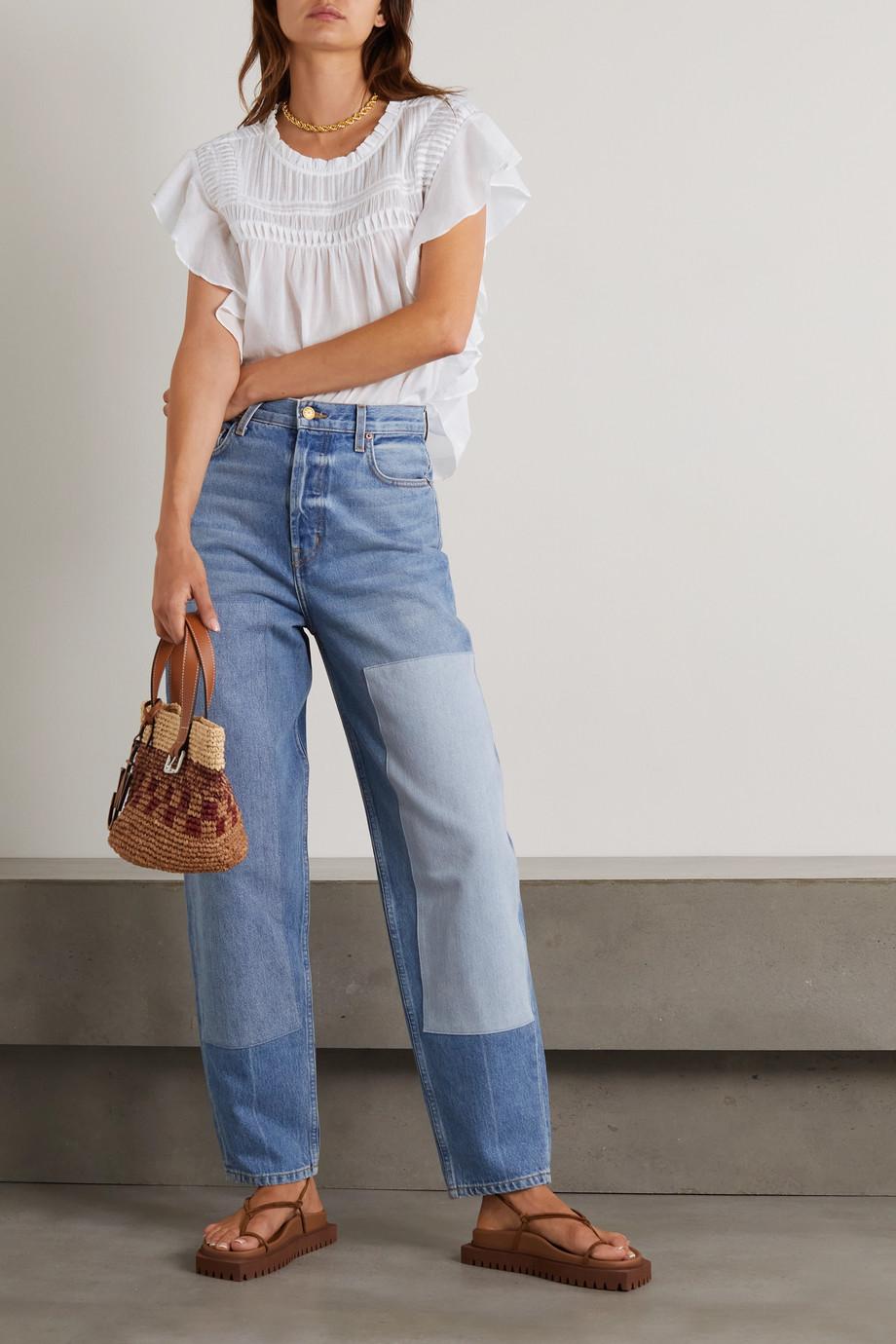 Isabel Marant Étoile Layona ruffled cotton-voile blouse