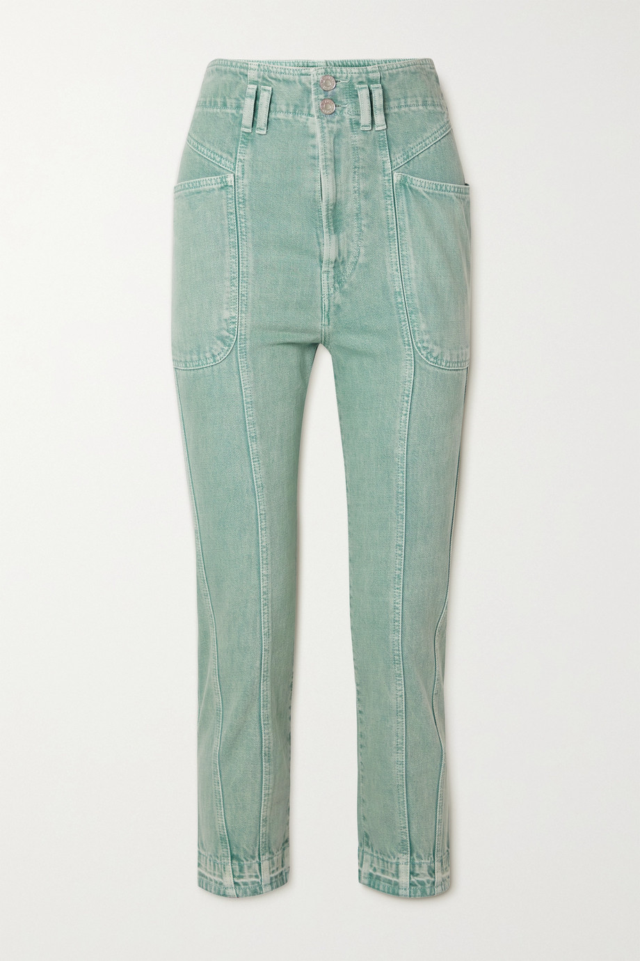 Isabel Marant Étoile Tucson high-rise slim-leg jeans