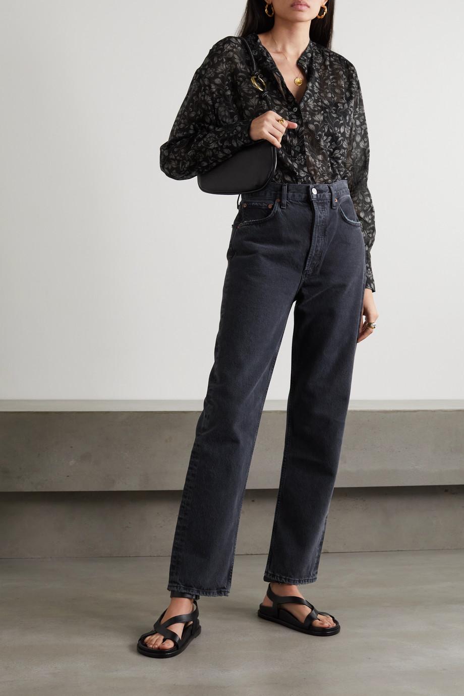 Isabel Marant Étoile Mexica floral-print cotton-voile blouse