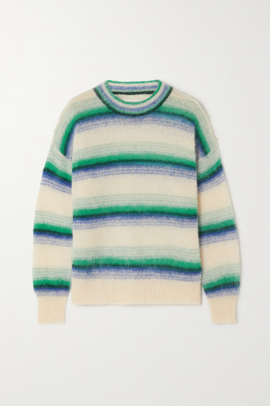 Isabel Marant Étoile Drussell striped mohair-blend sweater