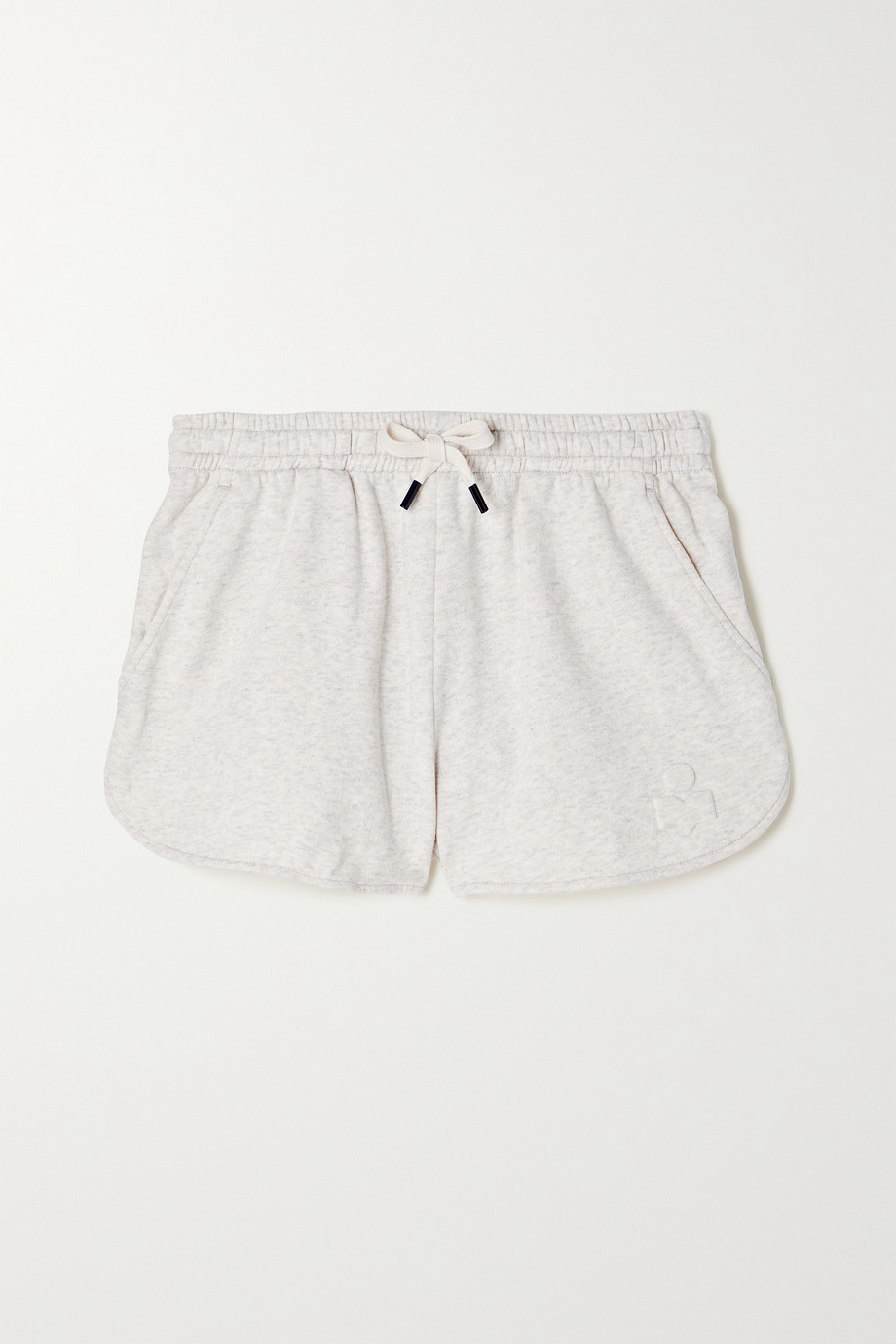 Isabel Marant Étoile Mifika embossed cotton-blend jersey shorts