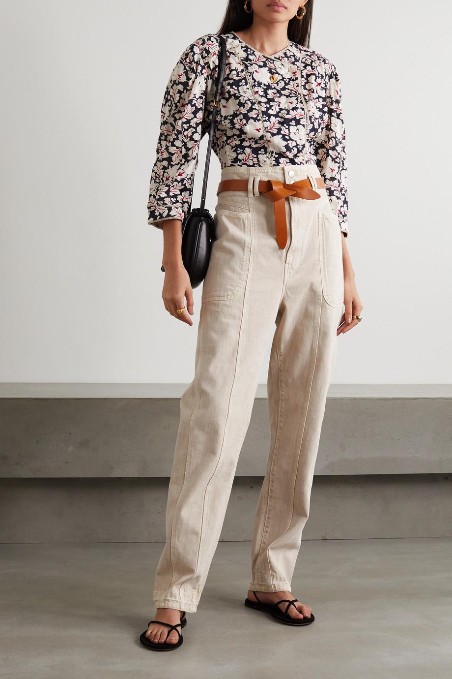 Isabel Marant Étoile Tess high-rise slim boyfriend jeans