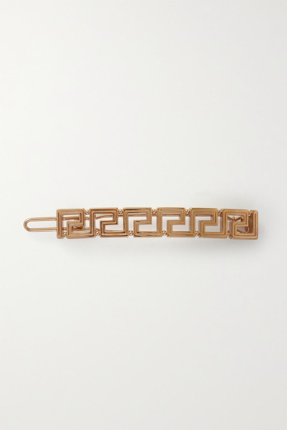 Versace Gold-tone hair clip