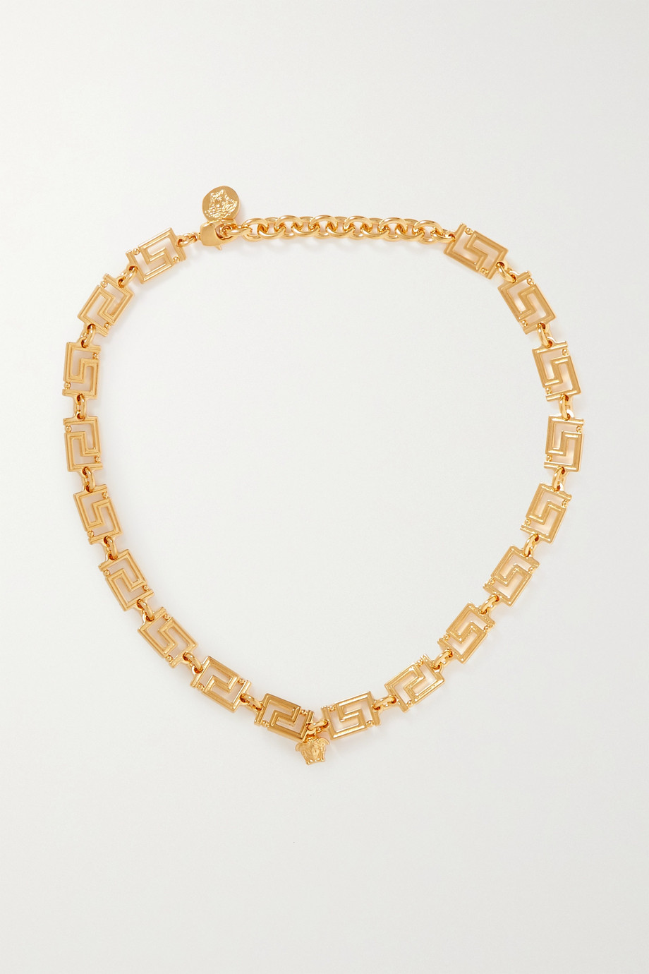 Versace Gold-tone necklace