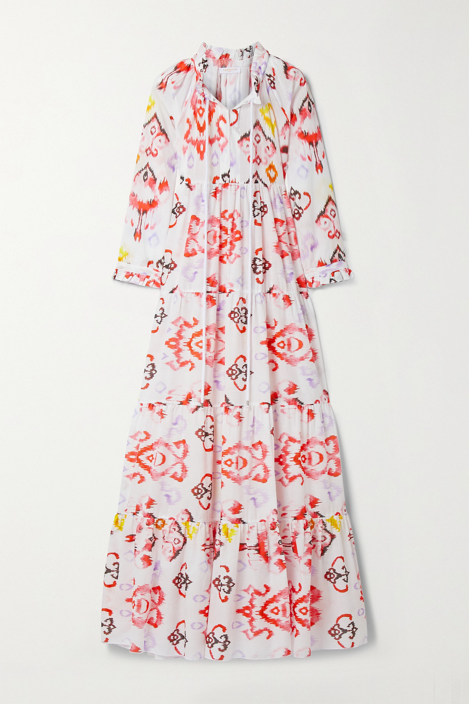 Eywasouls Malibu Cora Maxikleid aus Baumwoll-Voile mit Blumenprint