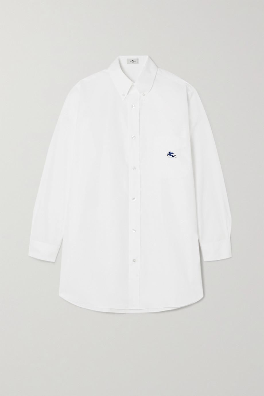Etro Cotton-poplin shirt