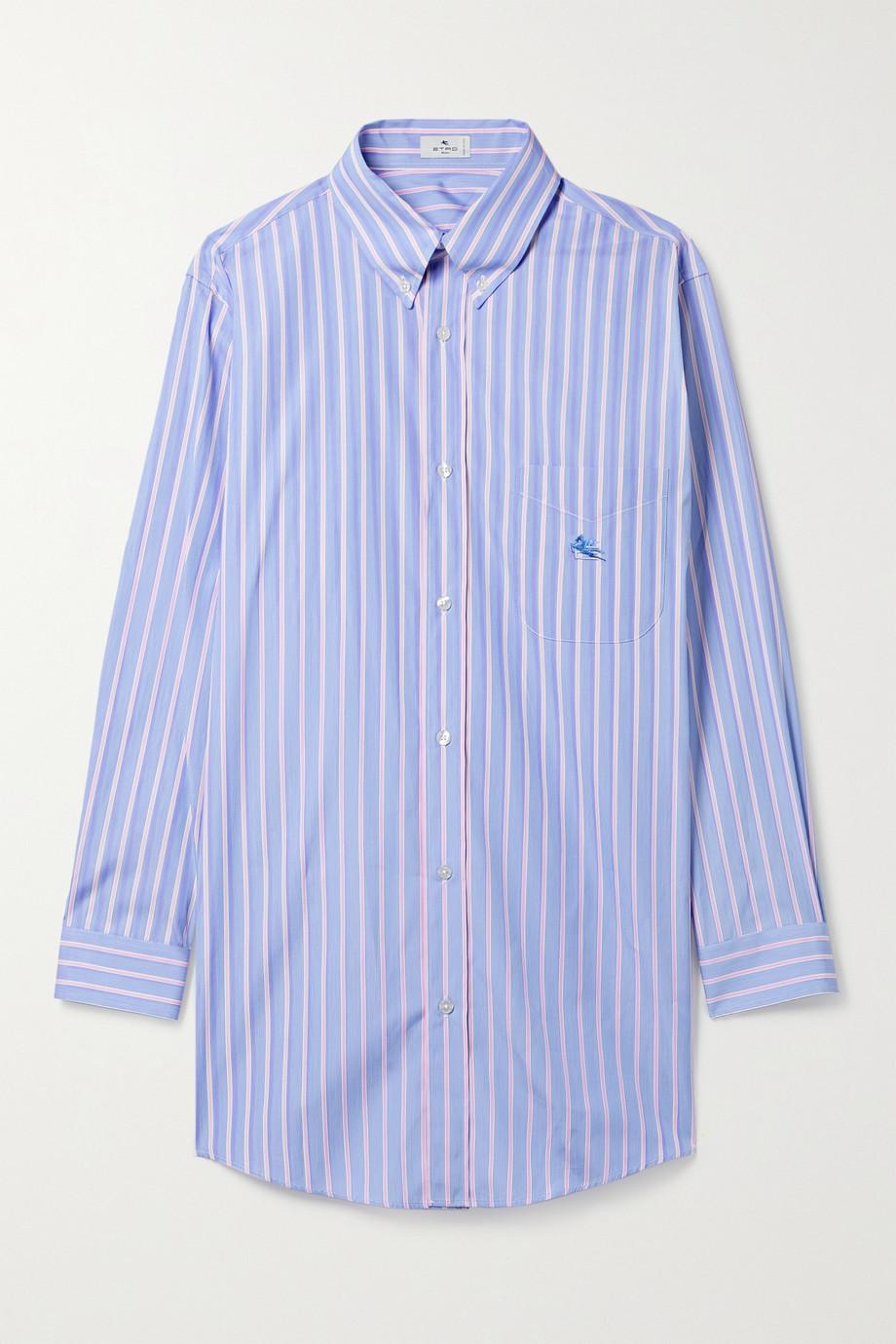 Etro Pinstriped cotton Oxford shirt