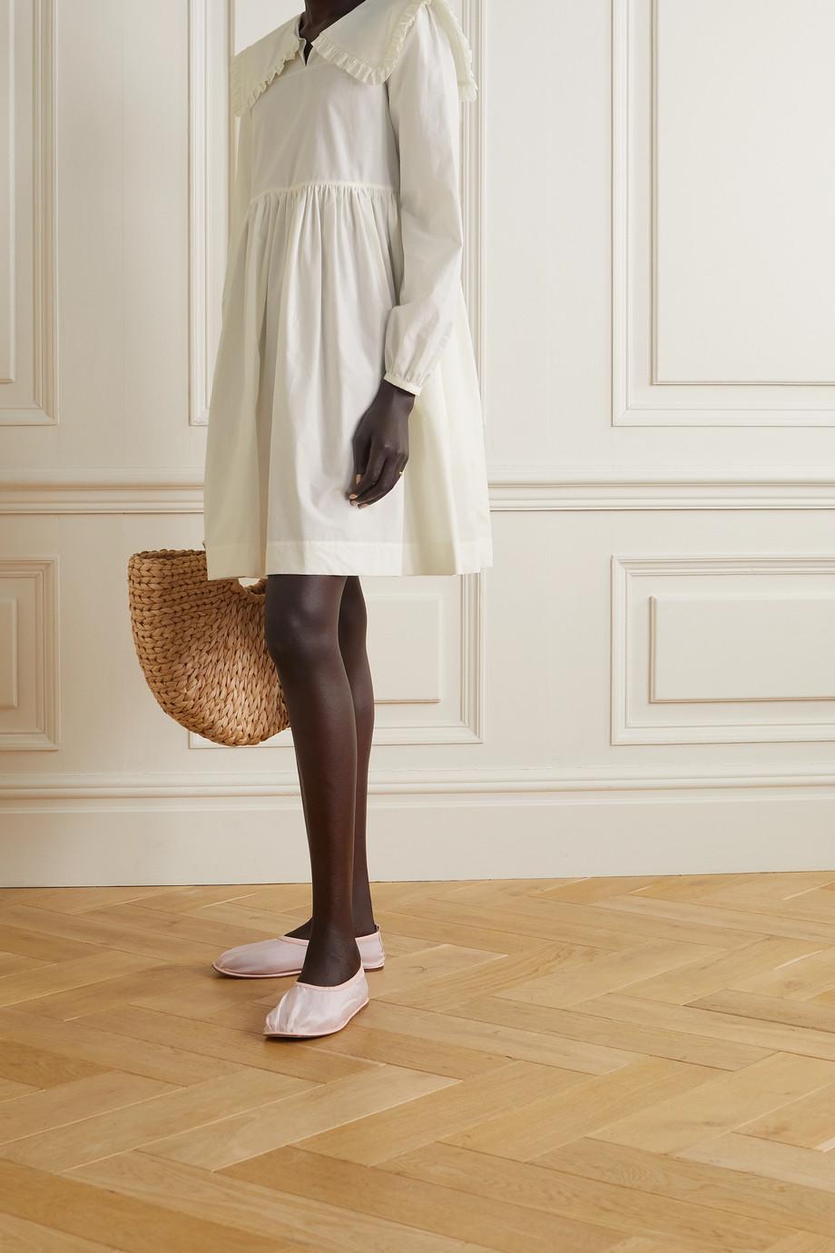Molly Goddard Atlanta ruffled cotton-poplin mini dress