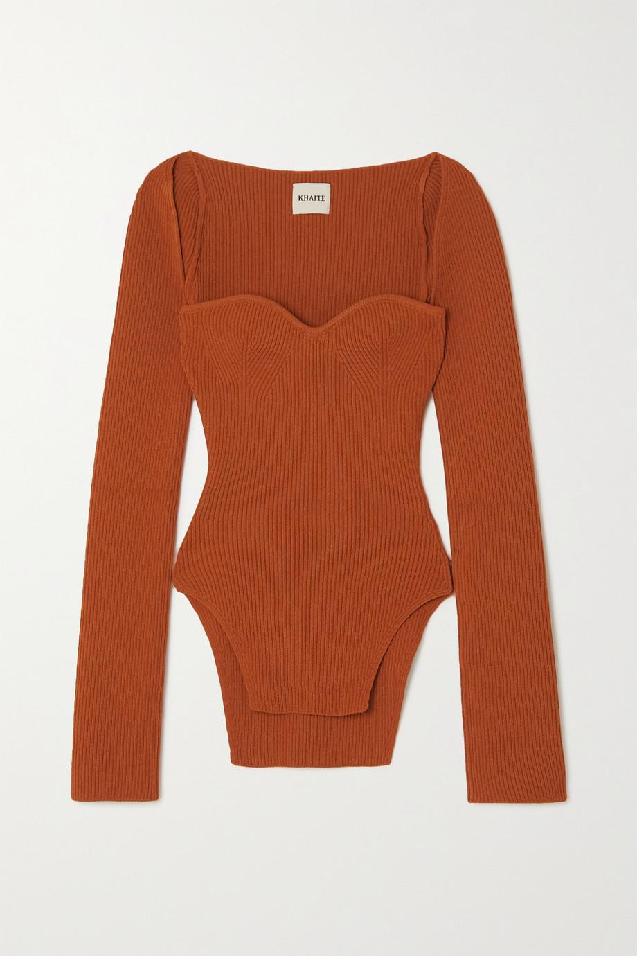 Khaite Maddy ribbed-knit sweater