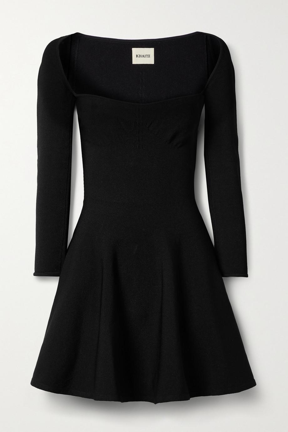 Khaite Dylan stretch-knit mini dress