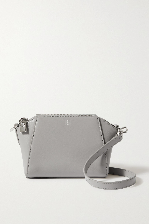 Givenchy Sac porté épaule en cuir Antigona Nano
