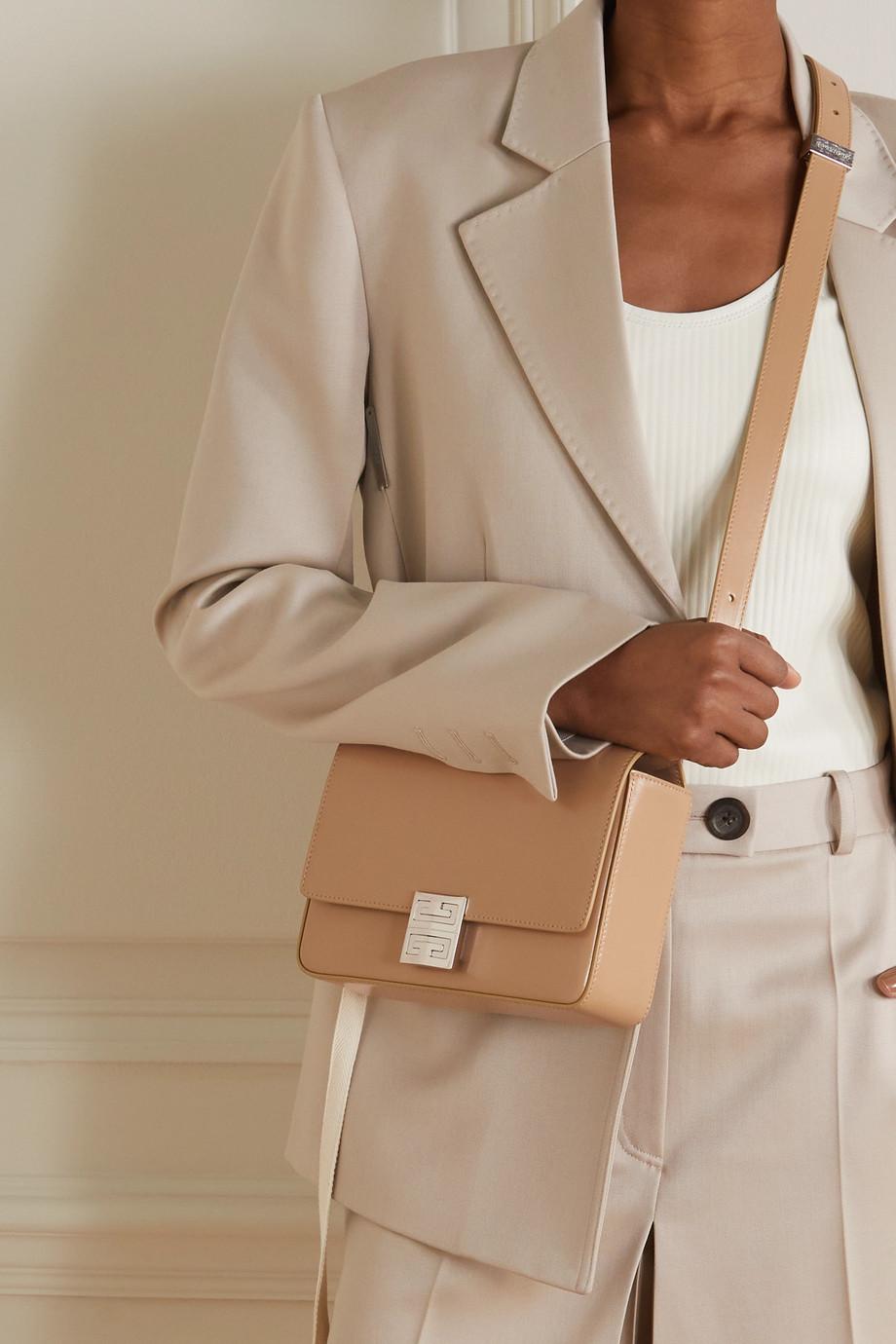 Givenchy Sac porté épaule en cuir 4G Small