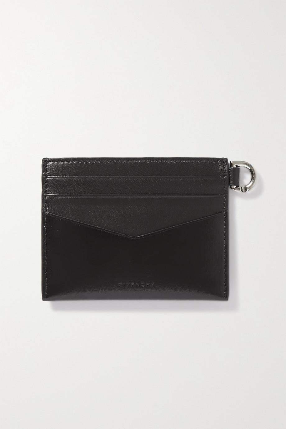 Givenchy Porte-cartes en cuir à ornements