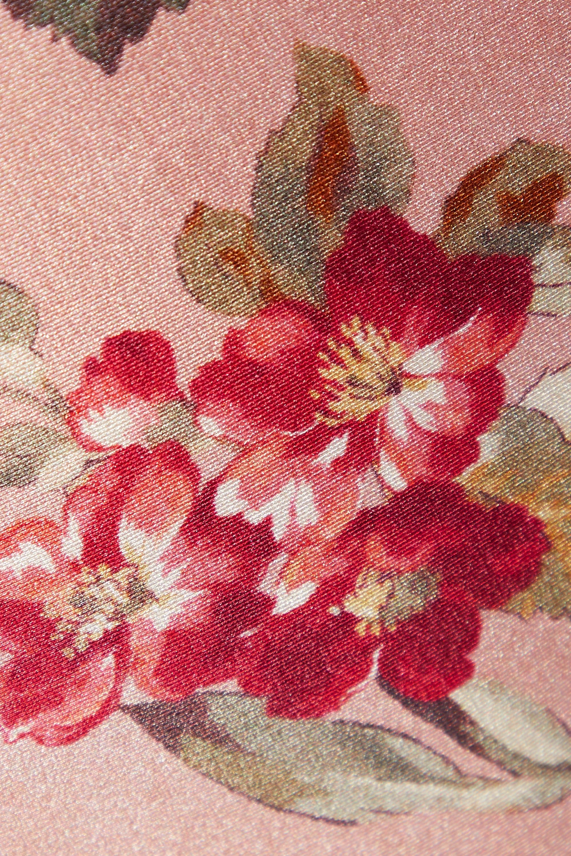 Zimmermann Maillot de bain bandeau à imprimé fleuri et à découpe Cassia