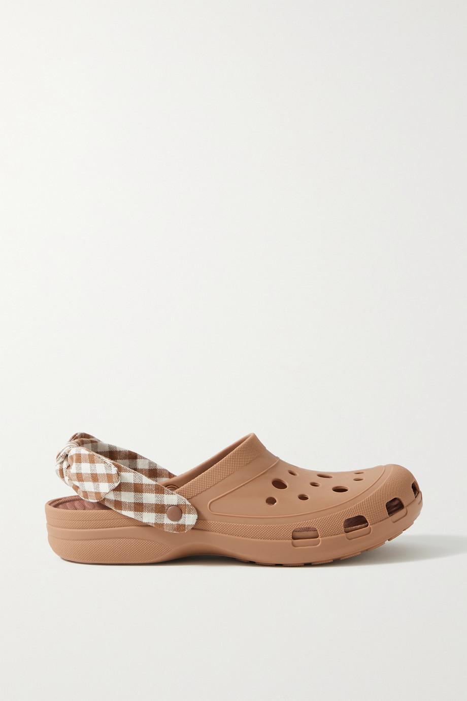Loeffler Randall Ezra bow-embellished rubber clogs