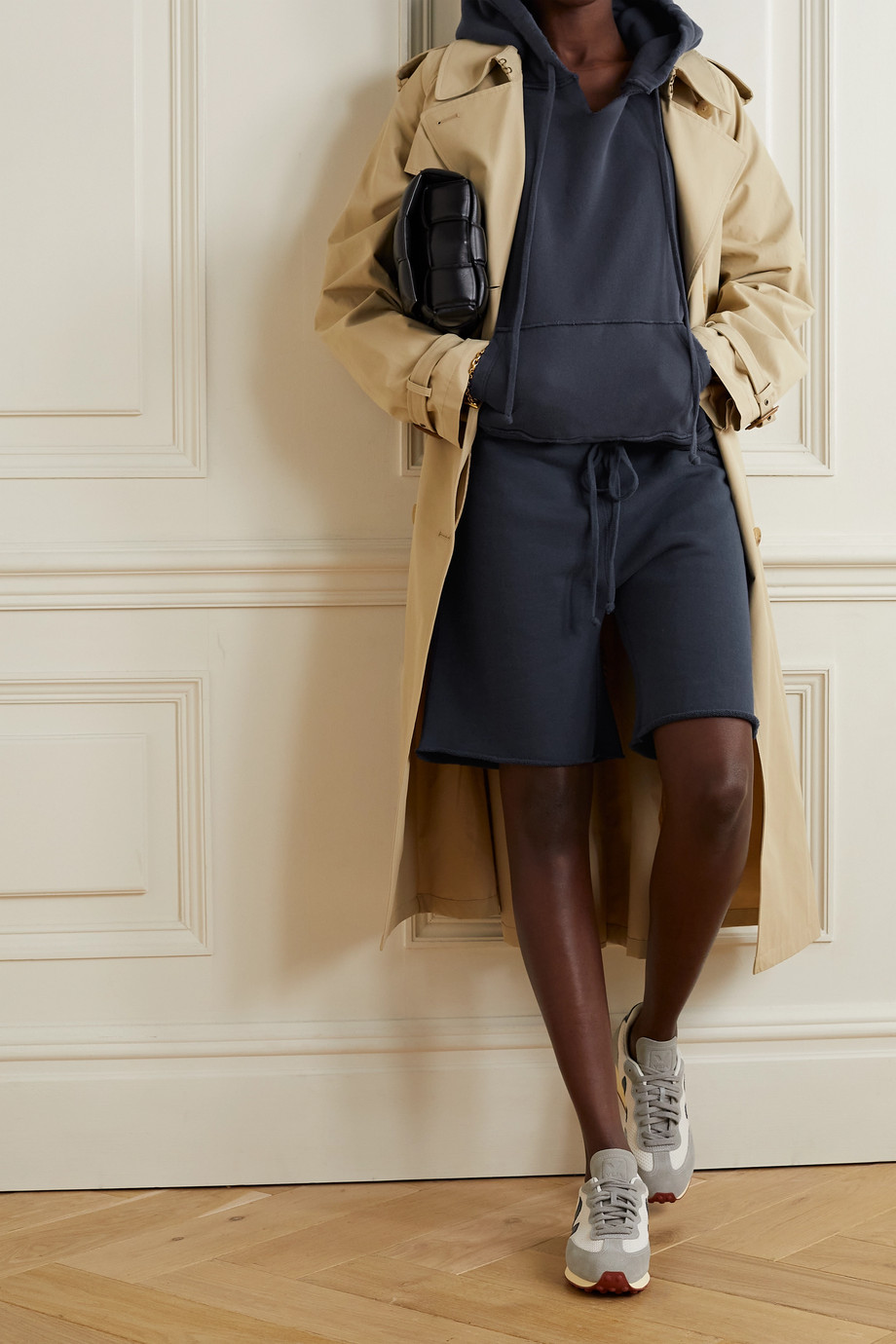 Nili Lotan Austin cotton-jersey shorts