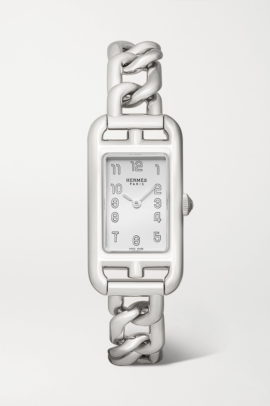 Hermès Timepieces Nantucket 17mm very small stainless steel watch
