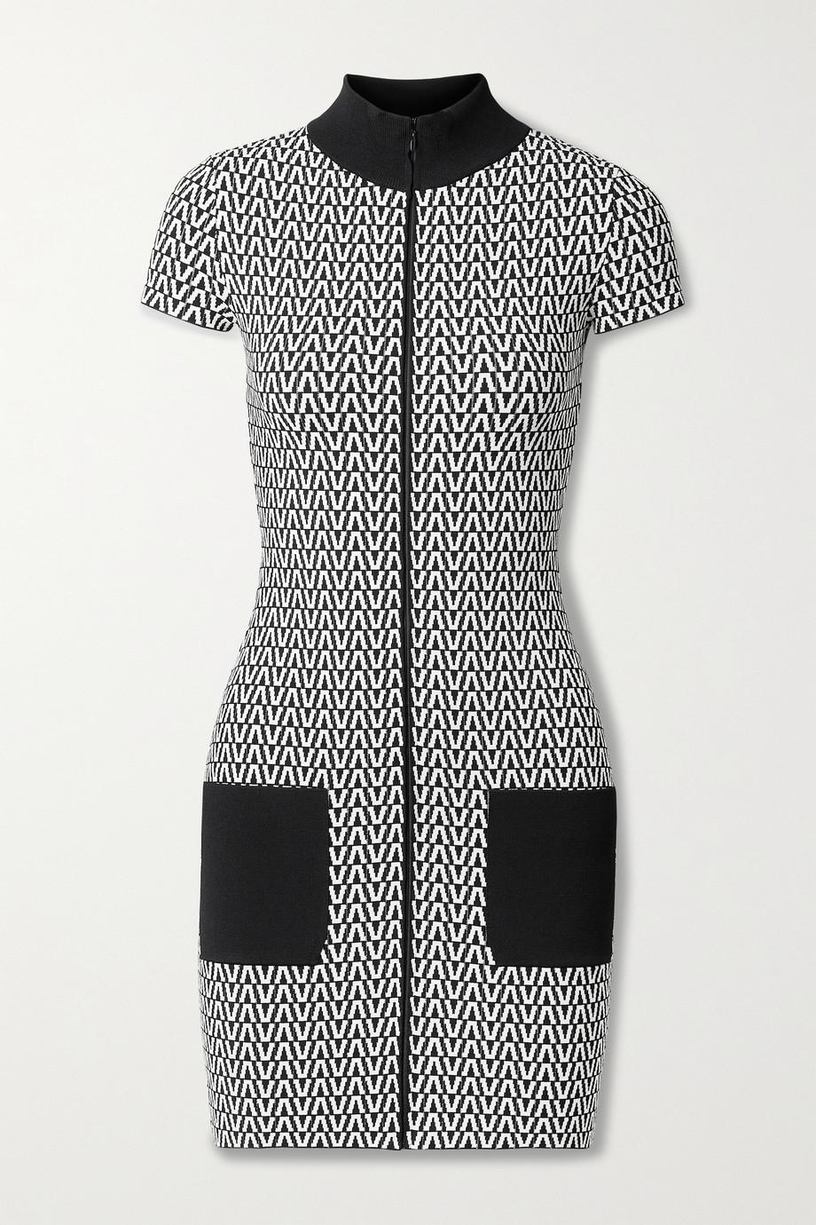 Valentino Mini-robe en mailles jacquard