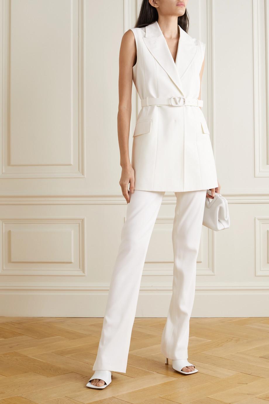 Valentino Belted cady vest