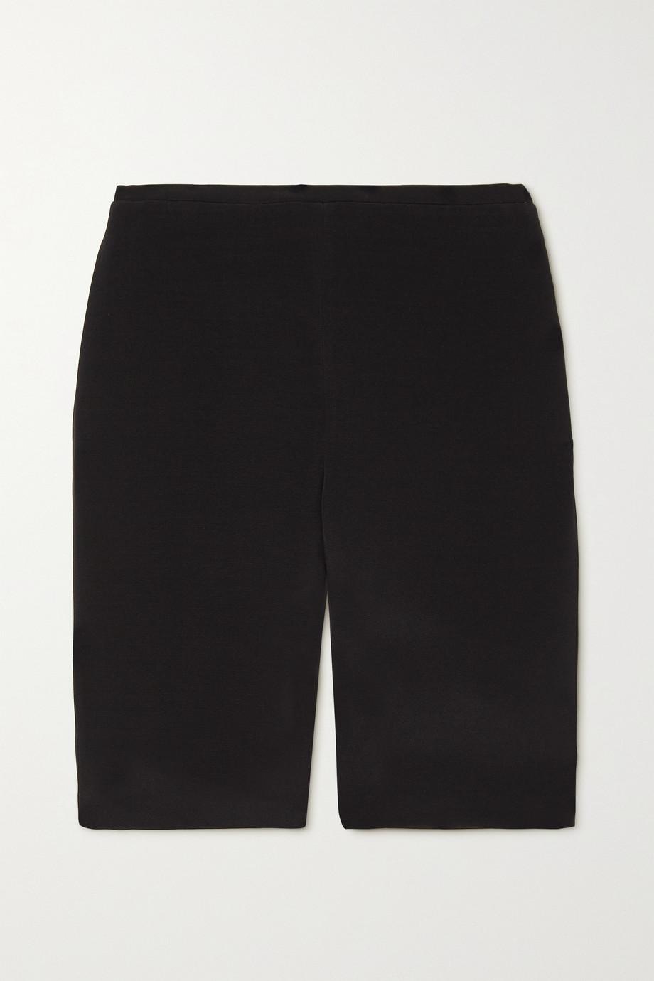 Valentino Shorts aus Crêpe aus einer Wollmischung