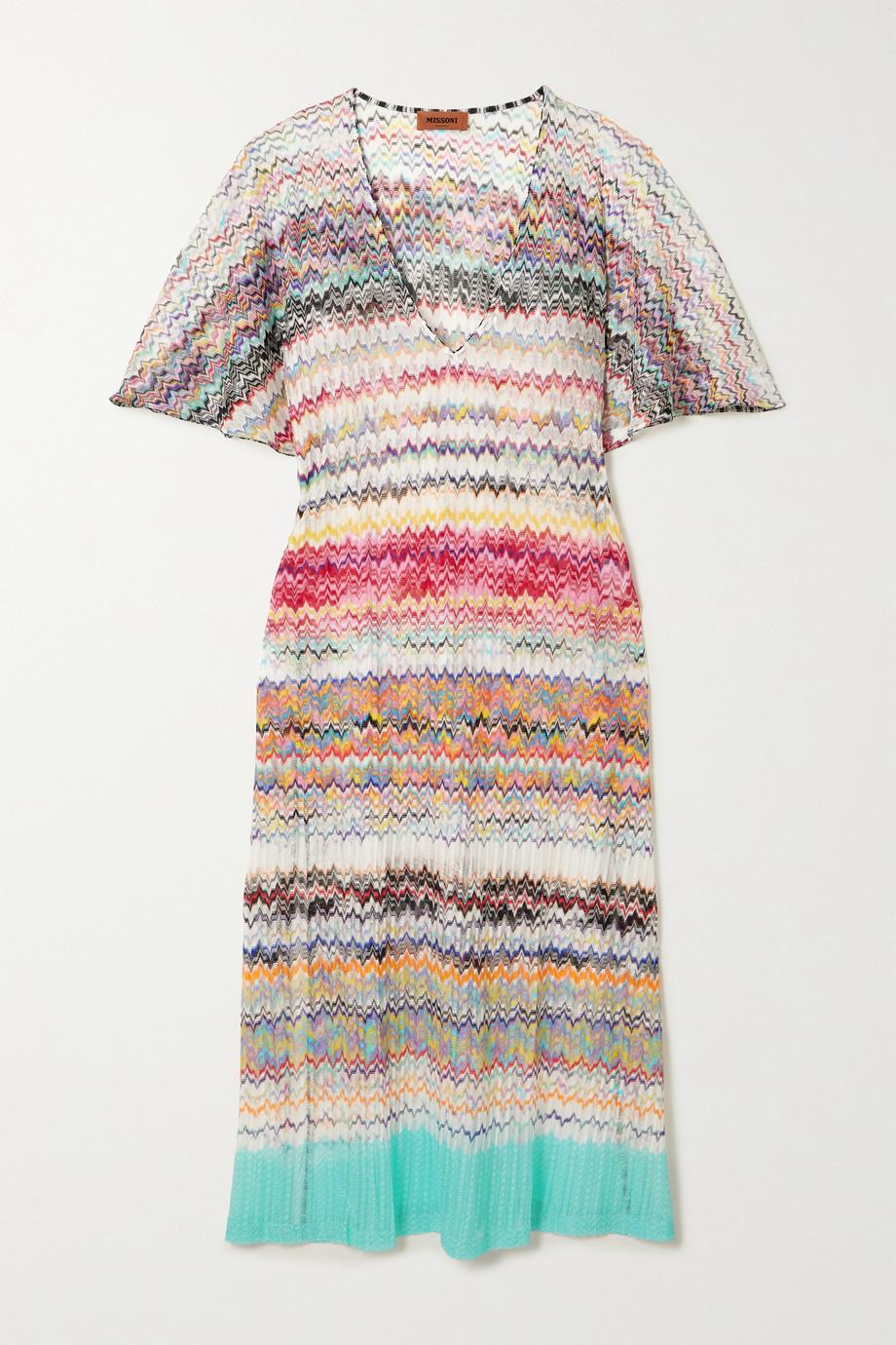 Missoni Mare crochet-knit kaftan