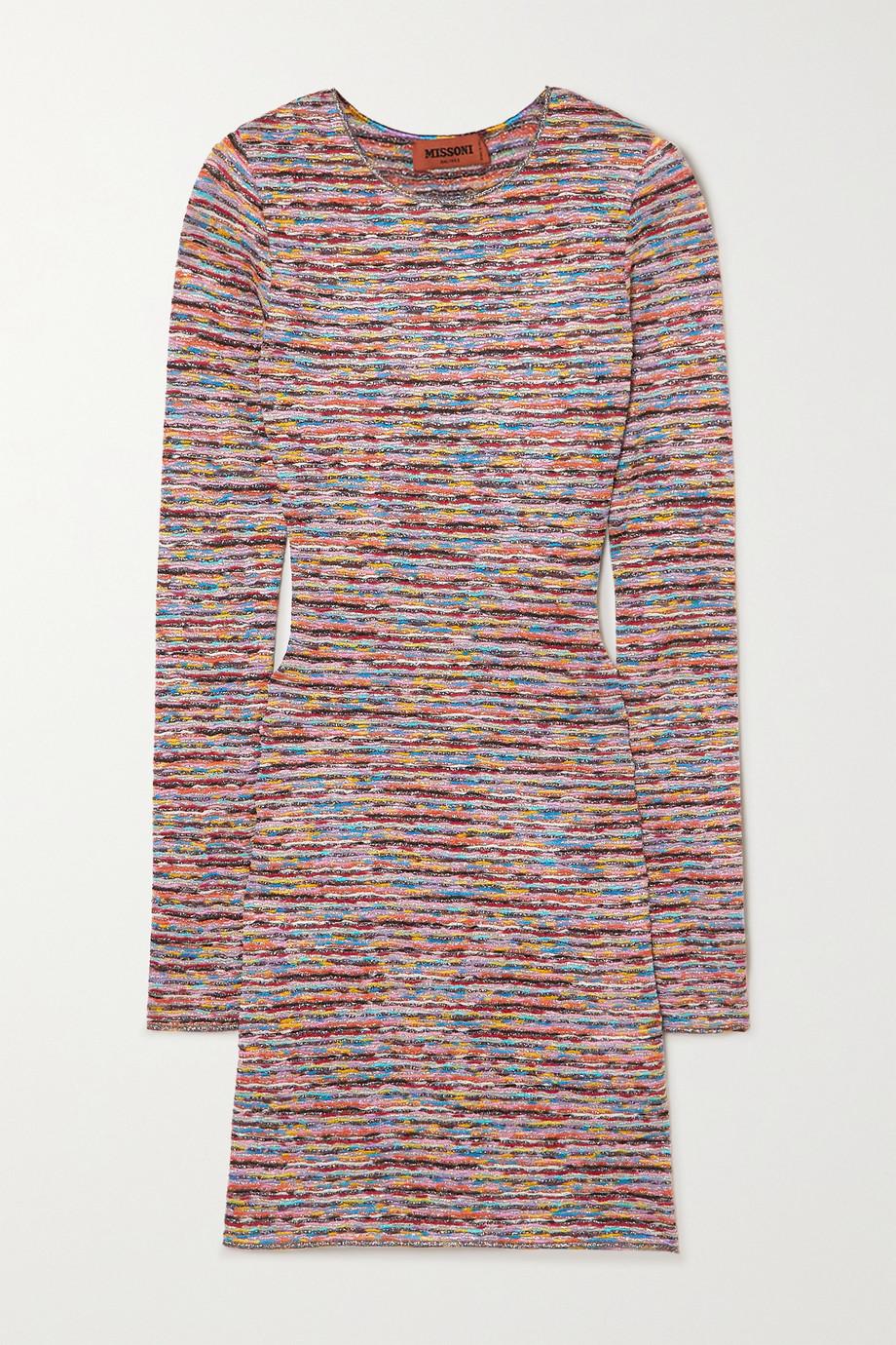 Missoni Mini-robe en mailles crochetées Mare