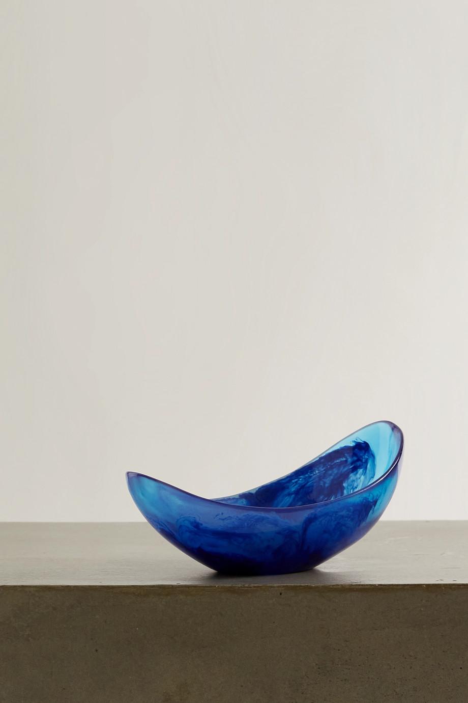 Dinosaur Designs Seed marmorierte Schale aus Harz