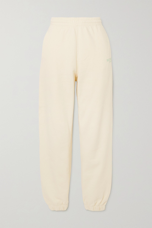 ROTATE Birger Christensen - + NET SUSTAIN Sunday Mimi printed organic cotton-jersey track pants