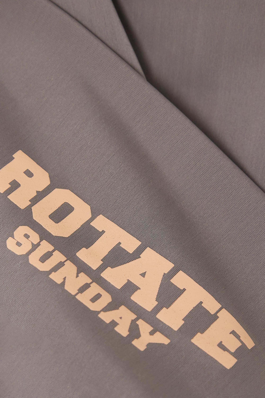 ROTATE Birger Christensen Sunday Kamelia printed recycled stretch shorts