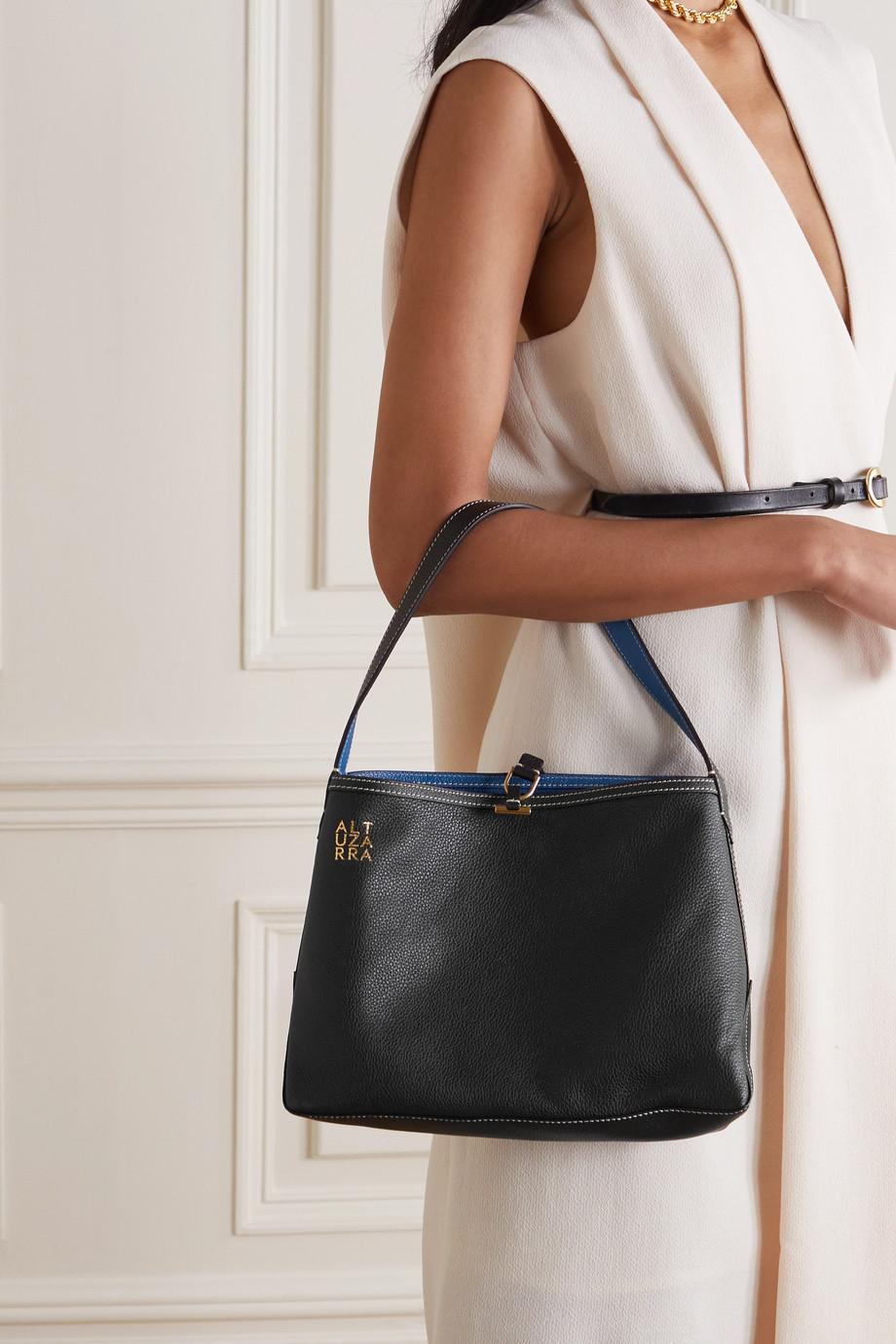 Altuzarra Duo mini reversible textured-leather shoulder bag