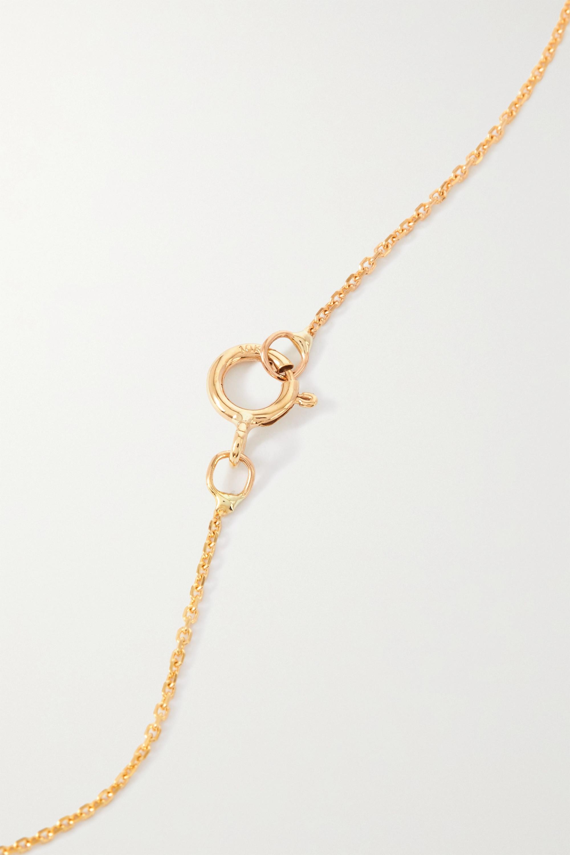 SARAH & SEBASTIAN Nymph Kette aus Gold mit Opalen und Diamanten