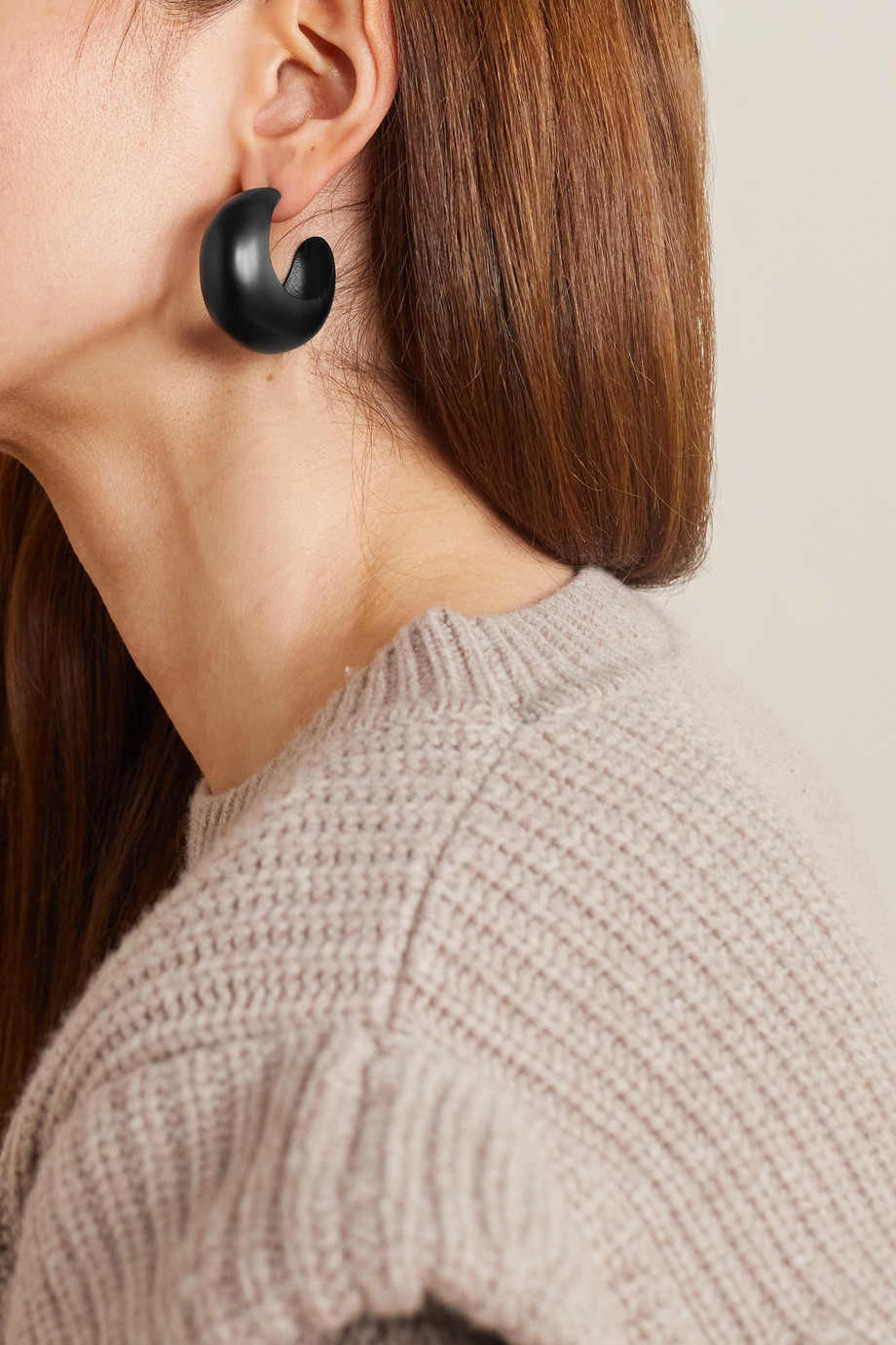 Isabel Marant Boucles d'oreilles en métal argenté et résine