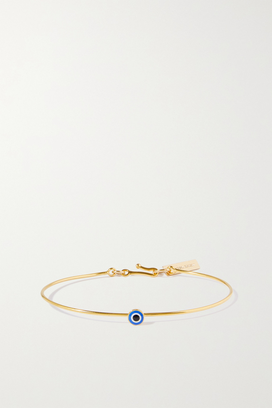 Isabel Marant Lucky gold-tone and resin bracelet