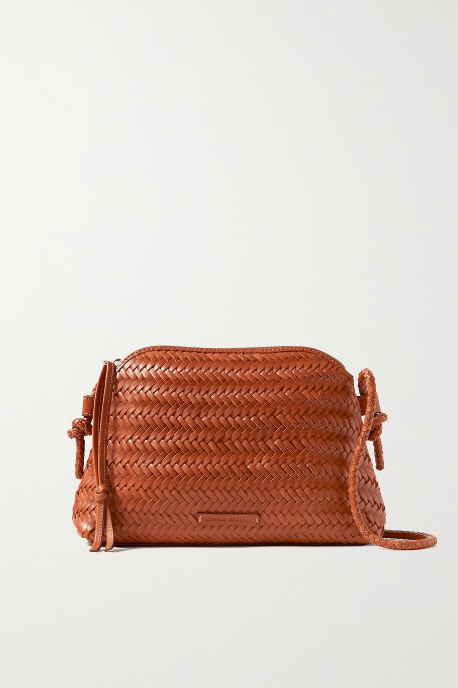 Loeffler Randall Mallory woven leather shoulder bag