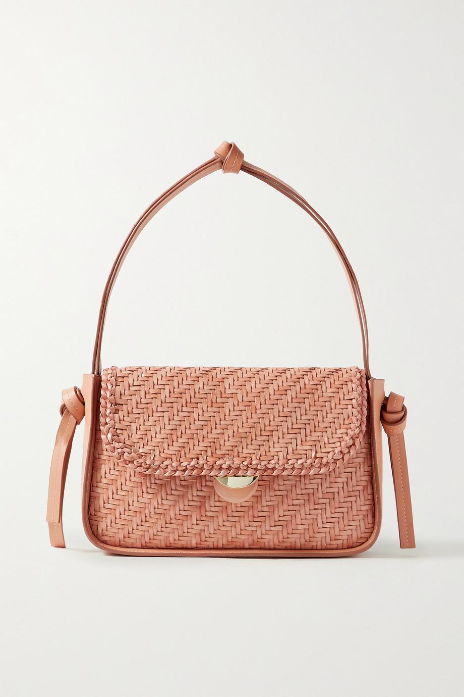 Loeffler Randall Maggie woven leather shoulder bag