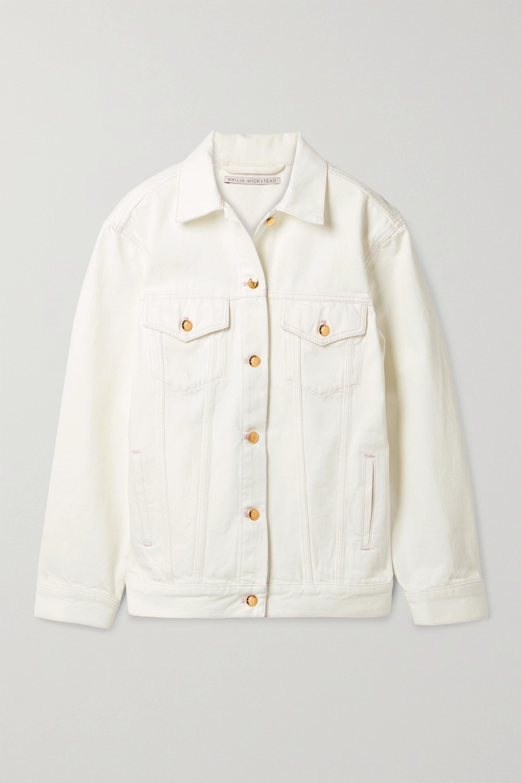 Emilia Wickstead - Denisa denim jacket